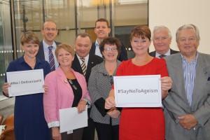 ACau Plaid Cymru yn cefnogi'r ymgyrch 'Na I Oedraniaeth' / Plaid Cymru Ams backing the 'Say No to Ageism' campaign